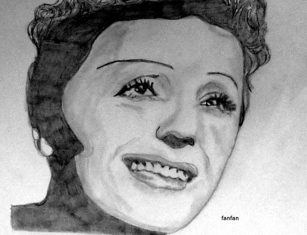 Edith Piaf par fanfan